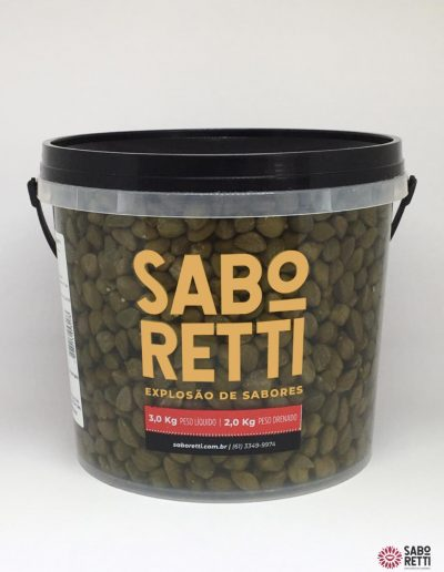 Alcaparras Saboretti - Balde 2kg