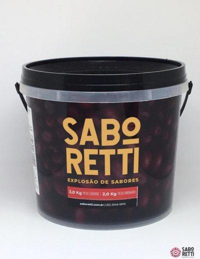 Azeitona Azapa Saboretti - Balde 2Kg
