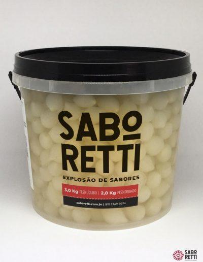Cebolinha Cristal Saboretti - Balde 2kg