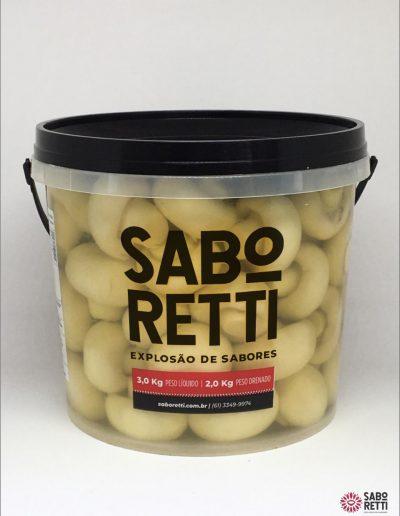 Cogumelo Inteiro Saboretti - Balde 2Kg