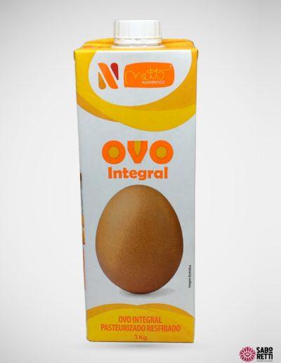 Ovo Integral Pasteur Resfr Netto - T Pak 1kg