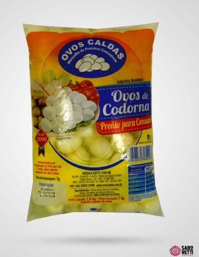Ovo de Codorna Ovos Caldas - Bag 1kg