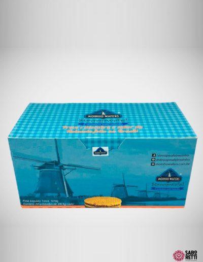 Stroopwafel Display Moinho Wafers - Caixa 20un.