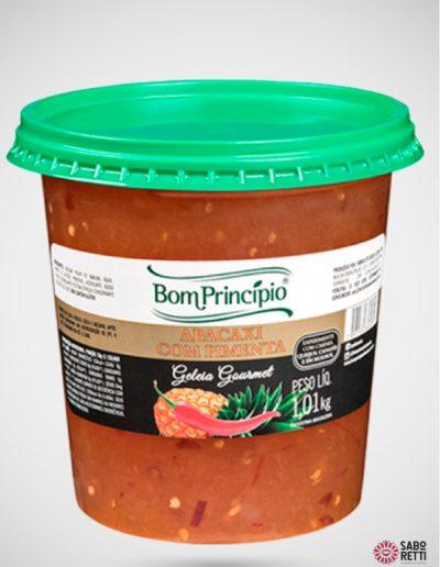 Geléia Abacaxi com Pimenta Bom Princípio - Balde 1,01kg