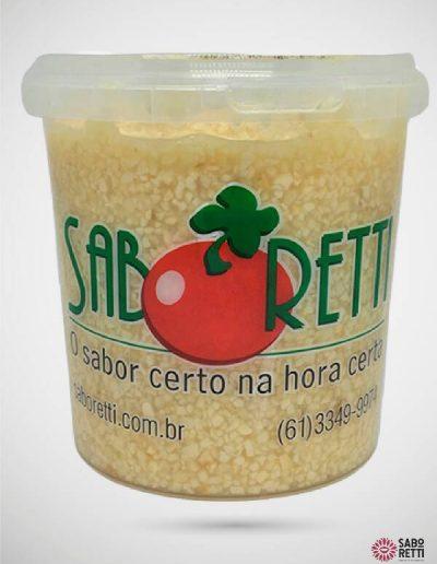 Alho in Natura Triturado Saboretti - Balde 1Kg
