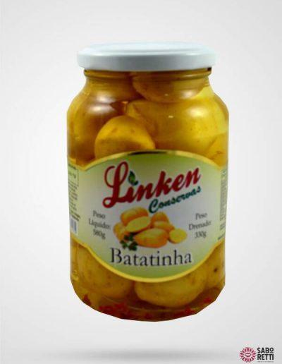 Batatinha em Conserva Linken - Caixa 15x330gr
