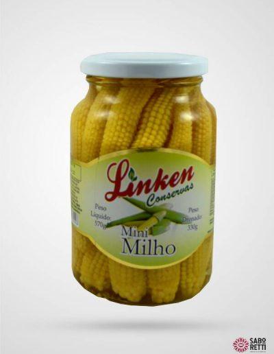 Milho Mini em Conserva Linken - Caixa 15x330gr