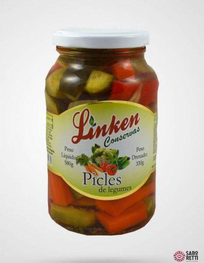 Picles em Conserva Linken - Caixa 15x330gr
