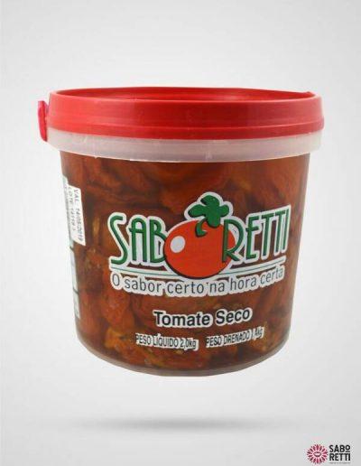 Tomate Seco Saboretti - Balde 2Kg