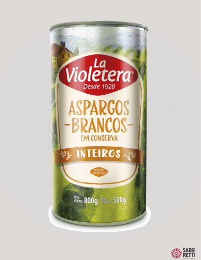 Aspargos La Violetera - Lata 500gr
