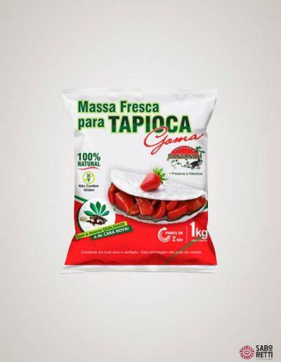 Massa para Tapioca Pantanal - Pacote 1kg