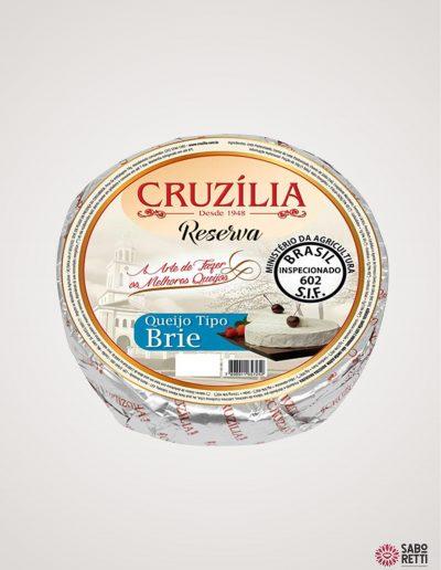 Queijo Brie Cruzília