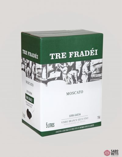 Vinho Tre Fradei Branco Bag 5L