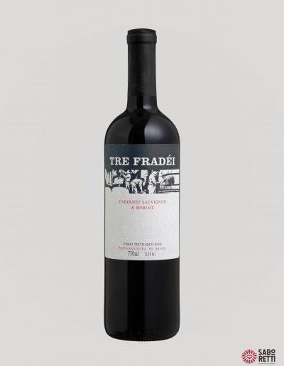 Vinho Tre Fradei Cabernet S./Merlot